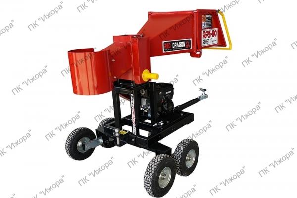 Рубительные машины для производства дров с бензиновым двигателем