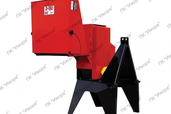 Рубительные машины для производства дров с ленточным конвейером
