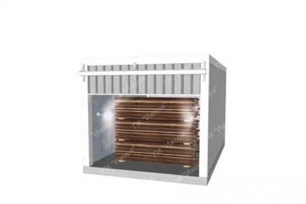 Оборудование для пропаривания древесины и комбинированные камеры