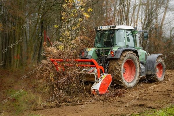 TFVMF – ESLA – лесной мульчер с фиксированными молотками с двойным растяжением для тракторов 100-150 л.с.