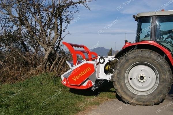 TFVD – KASAR – лесной мульчер с двусторонним приводом и с подвижными молотками для тракторов 60-150 л.с.