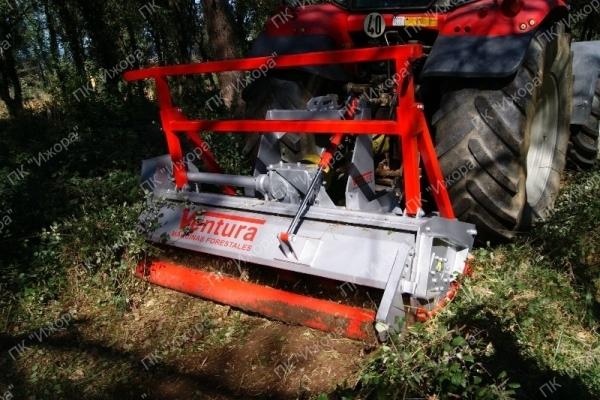 TFVJA – LOMANI – полулесной мульчер с подвижными молотками для тракторов 40-130 л.с.