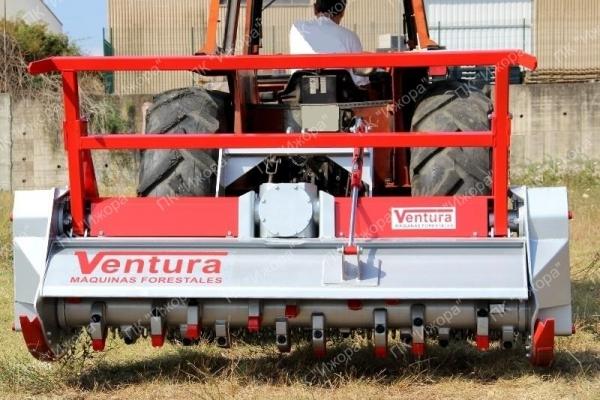 TFVJMFD – VAAL – лесной мульчер с фиксированными молотками с наконечником из стали vidia для тракторов 75-160 т.