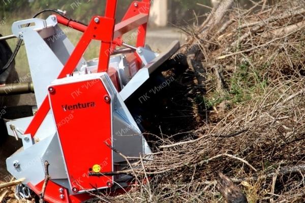 TFVJD – JURUA – лесной мульчер с подвижными мотками, вращающимися на 360°, с двойным натяжением (растяжением) для тракторов 75-160 л.с.