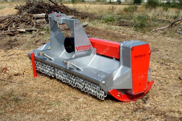 TFVJ – INDO – лесной мульчер с вращающимися молотками на 360° для тракторов 40-130 л.с.